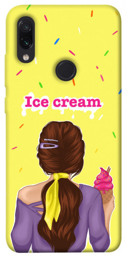 Чехол itsPrint Ice cream girl для Xiaomi Redmi Note 7 / Note 7 Pro / Note 7s