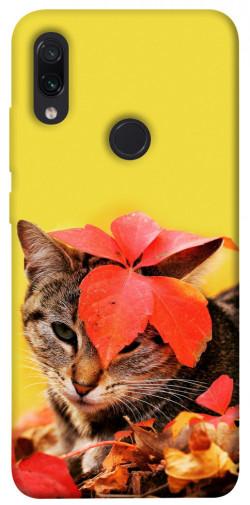 Чехол itsPrint Осенний котик для Xiaomi Redmi Note 7 / Note 7 Pro / Note 7s