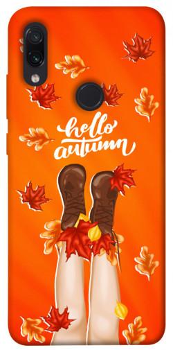 Чехол itsPrint Hello autumn для Xiaomi Redmi Note 7 / Note 7 Pro / Note 7s