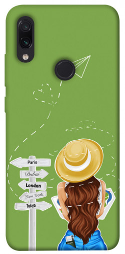 Чехол itsPrint Travel girl для Xiaomi Redmi Note 7 / Note 7 Pro / Note 7s