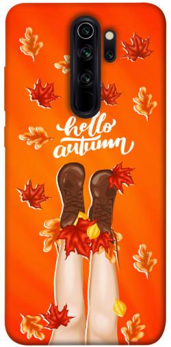 Чехол itsPrint Hello autumn для Xiaomi Redmi Note 8 Pro