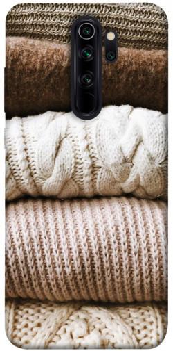 Чехол itsPrint Knitted aesthetics для Xiaomi Redmi Note 8 Pro