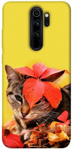 Чехол itsPrint Осенний котик для Xiaomi Redmi Note 8 Pro