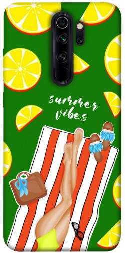 Чехол itsPrint Summer girl для Xiaomi Redmi Note 8 Pro