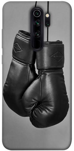 Чехол itsPrint Черные боксерские перчатки для Xiaomi Redmi Note 8 Pro
