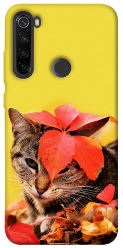 Чехол itsPrint Осенний котик для Xiaomi Redmi Note 8T