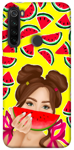 Чехол itsPrint Watermelon girl для Xiaomi Redmi Note 8T