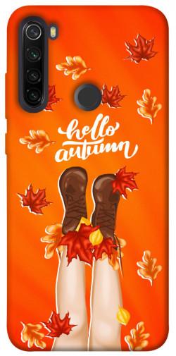 Чехол itsPrint Hello autumn для Xiaomi Redmi Note 8T