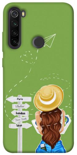 Чехол itsPrint Travel girl для Xiaomi Redmi Note 8T