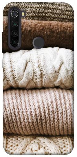 Чехол itsPrint Knitted aesthetics для Xiaomi Redmi Note 8T