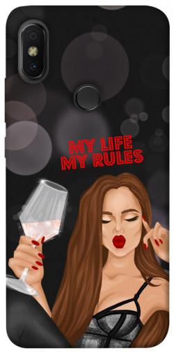 Чехол itsPrint My life my rules для Xiaomi Redmi S2