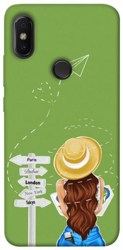 Чехол itsPrint Travel girl для Xiaomi Redmi S2