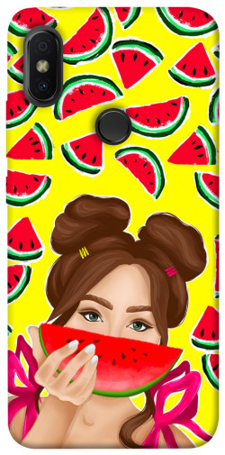 Чехол itsPrint Watermelon girl для Xiaomi Redmi S2
