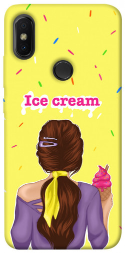 Чехол itsPrint Ice cream girl для Xiaomi Redmi S2