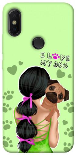 Чехол itsPrint Love my dog для Xiaomi Redmi S2