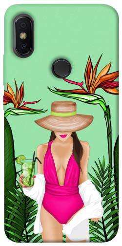 Чехол itsPrint Tropical girl для Xiaomi Redmi S2