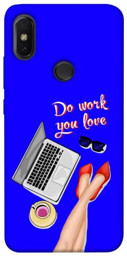 Чехол itsPrint Do work you love для Xiaomi Redmi S2