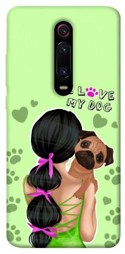 Чехол itsPrint Love my dog для Xiaomi Mi 9T Pro