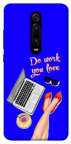 Чехол itsPrint Do work you love для Xiaomi Mi 9T Pro