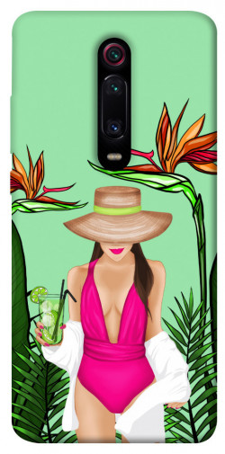 Чехол itsPrint Tropical girl для Xiaomi Mi 9T Pro