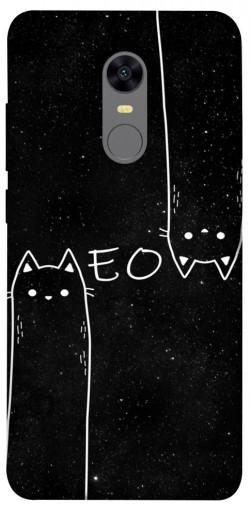 Чехол itsPrint Meow для Xiaomi Redmi 5 Plus / Redmi Note 5 (Single Camera)