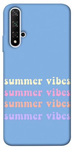 Чехол itsPrint Summer vibes для Huawei nova 5T