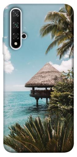 Чехол itsPrint Тропический остров для Huawei nova 5T