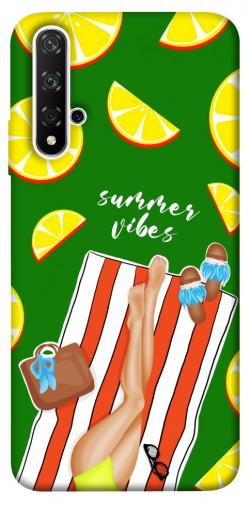Чехол itsPrint Summer girl для Huawei nova 5T