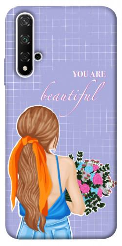 Чехол itsPrint You are beautiful для Huawei nova 5T
