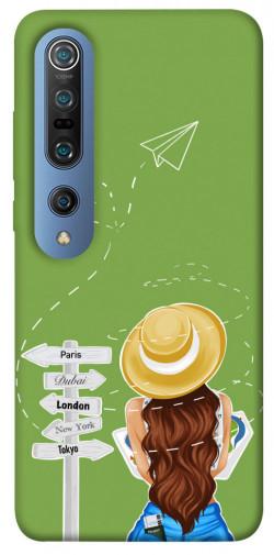 Чехол itsPrint Travel girl для Xiaomi Mi 10 / Mi 10 Pro
