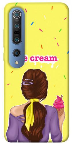 Чехол itsPrint Ice cream girl для Xiaomi Mi 10 / Mi 10 Pro