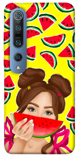 Чехол itsPrint Watermelon girl для Xiaomi Mi 10 / Mi 10 Pro