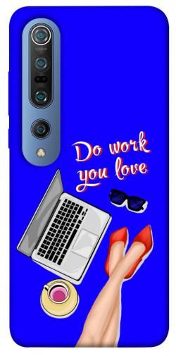 Чехол itsPrint Do work you love для Xiaomi Mi 10 / Mi 10 Pro