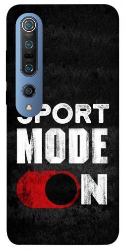 Чехол itsPrint Sport mode on для Xiaomi Mi 10 / Mi 10 Pro