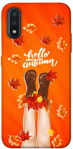 Чехол itsPrint Hello autumn для Samsung Galaxy A01