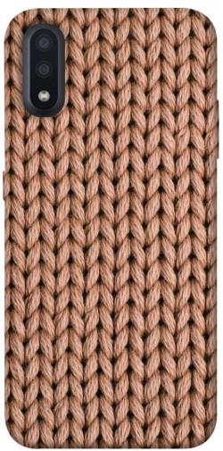 Чехол itsPrint Knitted texture для Samsung Galaxy A01