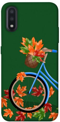 Чехол itsPrint Осенняя прогулка для Samsung Galaxy A01