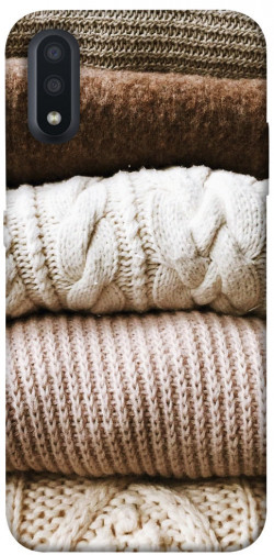Чехол itsPrint Knitted aesthetics для Samsung Galaxy A01