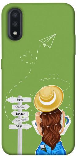Чехол itsPrint Travel girl для Samsung Galaxy A01