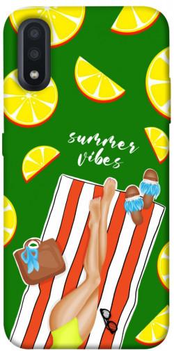 Чехол itsPrint Summer girl для Samsung Galaxy A01