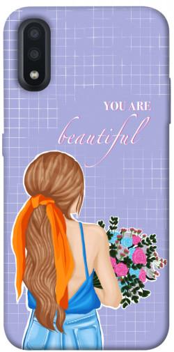 Чехол itsPrint You are beautiful для Samsung Galaxy A01