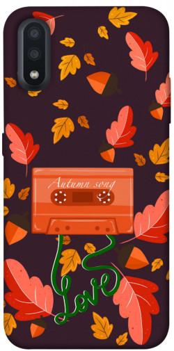Чехол itsPrint Autumn sound для Samsung Galaxy A01