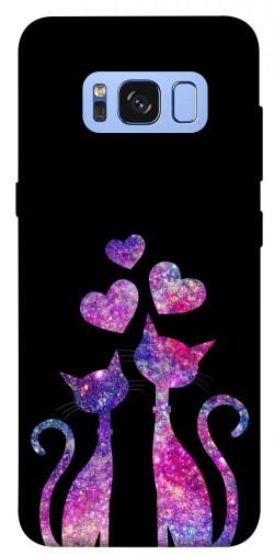 Чехол iPrint Комические коты для Samsung G950 Galaxy S8
