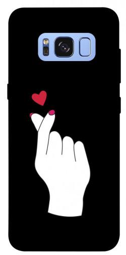 Чехол iPrint Сердце в руке для Samsung G950 Galaxy S8