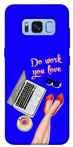 Чехол itsPrint Do work you love для Samsung G950 Galaxy S8