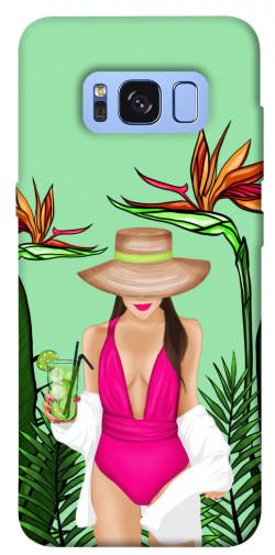 Чехол itsPrint Tropical girl для Samsung G950 Galaxy S8