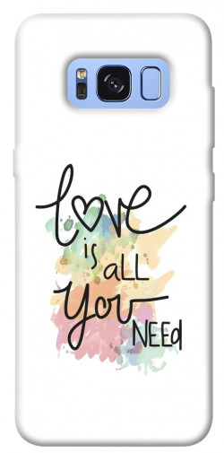 Чехол iPrint Love is all you need для Samsung G950 Galaxy S8