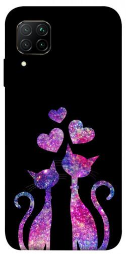 Чехол iPrint Комические коты для Huawei P40 Lite