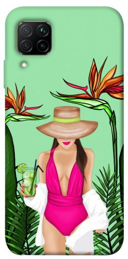 Чехол itsPrint Tropical girl для Huawei P40 Lite