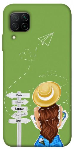 Чехол itsPrint Travel girl для Huawei P40 Lite